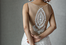 Esta Hsu wedding dress by Anseina Brides