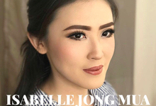 Ms. Stephany's  bride make up (Test make up only) by Isabellejongmua
