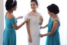 Simple Elegant Wedding Make Up by Carmelia & Team Make Up Artist