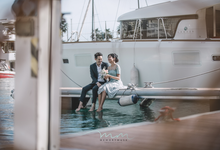 Yacht Pre Wedding by memorymusk