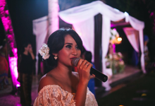 Riela & Indra Balinese Rustic Wedding at Beji Ubud  by Tirza Zoraya