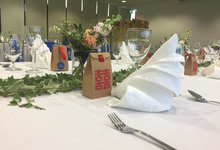 Wedding of Min Kok & Ros by Royal Catering Services Pte Ltd