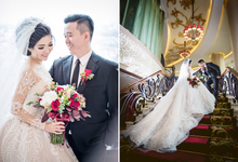 Reza + Arlita | Wedding by alivio photography