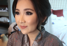 Our bride Cen Lidya by Vinna Gracia Makeup Artist