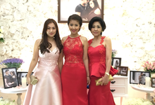 Mother & Sisters Gown by Lin's Couture by Melinda Theodora