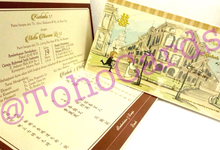 Rectangle Invitation by Toho Cards