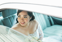 Wedding Hair and Makeup for Ms. Dixie by Sai Montes Makeup Artistry