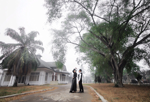 Story of Prewedding : Dian & Akbar by glamour photography