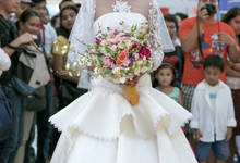 Wedding gown  by Monding Sanchez Atelier