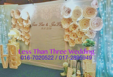 Decoration  by Less Than Three Wedding