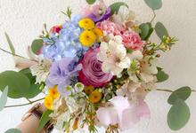 Prewedding bouquet by Liz Florals