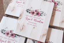 Bridesmaid and Groomsmen invitation by Molusca Project