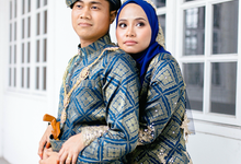 Aqilah & Khairil by azri ali photography