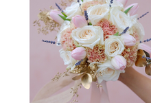 Reymond & Aurelia  by La Bloom Florist