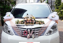 Wedding of Christofer and Meryani by Michael Wedding Car