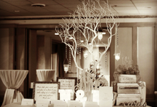 N&N Wedding Ceremony & Reception by Haute Event Decor