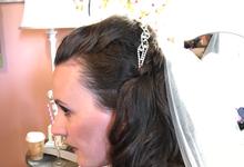 Bridal Hair by Maria Ball by primp & polish