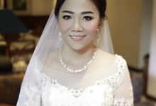 Mrs Adi & Miss Sherly Wedding by YU makeup artist