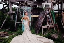 Gold Brown Mermaid by Bali DressCode Safari & Photography