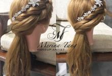 Hair style  by Kim Bridal
