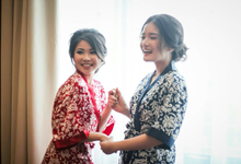 Kimono Wedding (satin dan brukat) by Kimono_ku