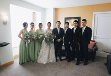 Aldo & Cella • Rustic Green by MALVA Bridesmaids