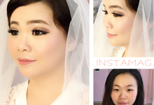 Bride Make Up for Ms. Angel by Makeupbyellenwang
