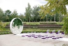 White and green wedding K&K by WeDoAgency