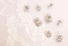 Ready Wedding Fake Nails by Sunshine Nailart