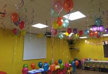Rainbow balloons by ilmare Wedding