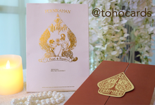"Riyan & Putri ""Wayang"" Invitation by Toho Cards"