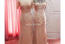 Baroque Pattern Gowns For Mom by Anita Cynthia Couture