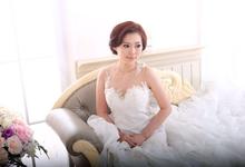 Wedding Makeup & Hairdo [CELLA] by SaneyArd by saney ard make up