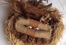 Wedding Ring Bearer (tempat cincin) by KayCrafty