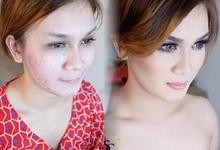 Make up dor ms. Susan novalina by sherlychairy.mua