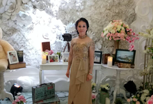 Fei's and mom's dress by windia wijaya