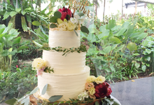 Tiered Cakes  by The Rosette Co