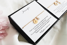 Adrian & Stephanie's Bridesmaid Gifts by AEROCULATA