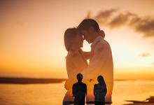 Prewedding Vincent & Rika  by AR Photo