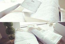 Personalized Mr. & Mrs. Towel by Palmerhaus