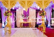 Maroko Modern - Tema Gold by Watie Iskandar Wedding Decoration & Organizer