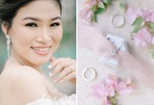 Wil & Bern's Blush Pink Intimate Wedding by Foreveryday Photography
