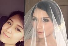 Michelle's Wedding by FIMUA Makeup Artist