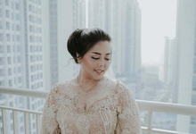 Bride Nadya by FIMUA Makeup Artist