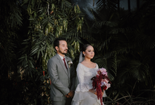 Syahnaz & Andre by FIOR
