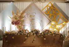 Reception Reagan & Elvina by FIOR