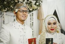 Ocha & Risman Akad Nikah (Javanese Tradition) by FIOR