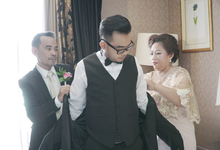 Morning Prep - Holy Matrimony Philip and Stacy by Fior Organizer