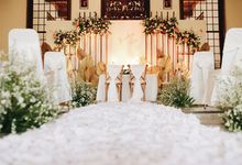 The Wedding of Fira & Jordan by Elior Design