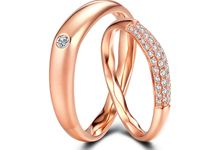 Tiaria FIRST LOVE Diamond Ring Perhiasan Cincin Pernikahan Emas dan Berlian by TIARIA